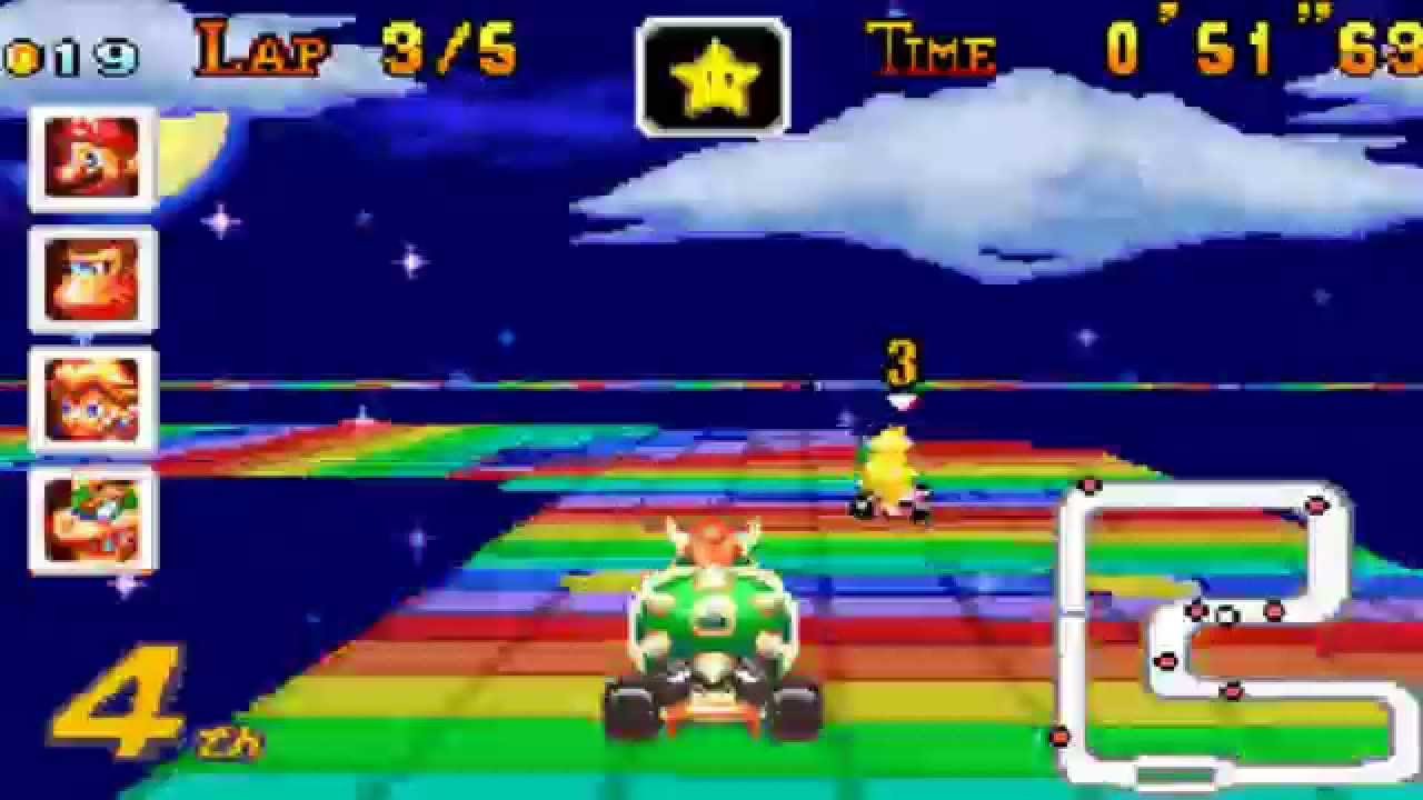 mario kart super circuit extra special cup 150cc random youtube. Black Bedroom Furniture Sets. Home Design Ideas