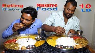 10lb Massive Food Eating Challenge | Curry, Dal, Chawal, Noodles, Samosa | Food Challenge India