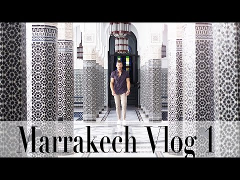 My first Time Visiting Marrakech | Travel Vlog