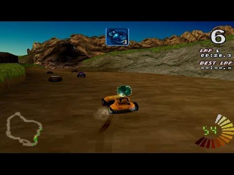 RC Revenge Gameplay Championship mode (PS1,PSX,PsOne)