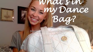 UPDATED: What's in my dance bag?