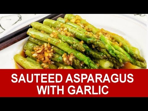 Sauteed Asparagus How to cook in three easy steps