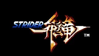 Strider - NES Gameplay