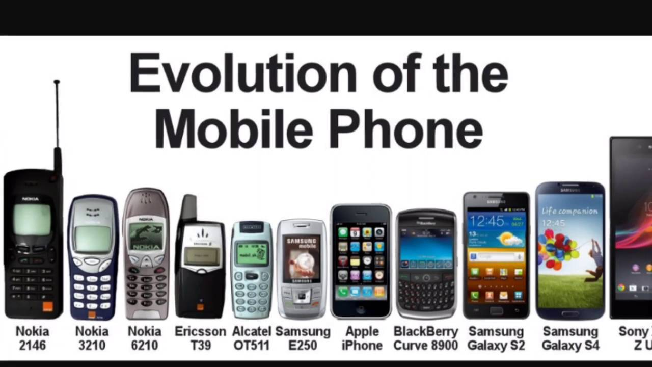 Evolution Of Cell Phones S Current Day