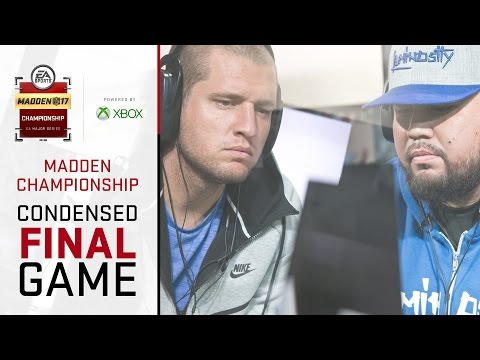 Madden 17 Championship Final | Full Game (Condensed) | Problem Vs Skimbo