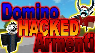DOMINO HACKED MY ROBLOX ACCOUNT! - ROBLOX Skit