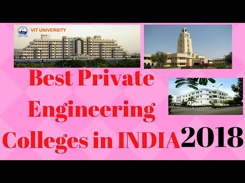 Top 10 Private Engineering Colleges in INDIA | 2018 | Backbenchers Online