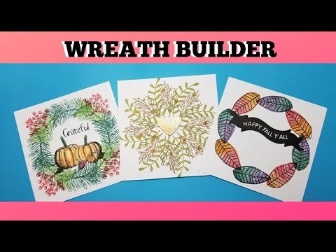 Wreath Builder Bundle By Gina K Designs / TUTORIAL / How To Video / FREE PLAY FRIDAY!