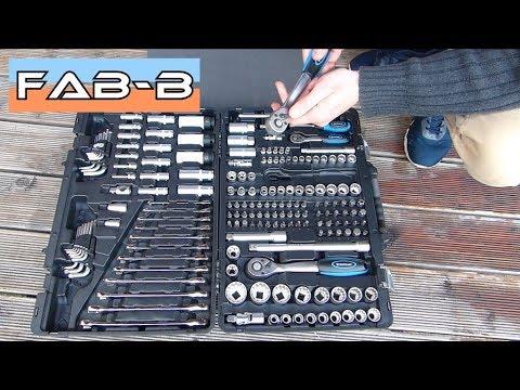 Presentation Coffret A Cliquets Douilles Et Embouts 176 Pieces Toolatelier Youtube