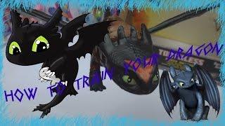 Обзор на игрушку  Как приручить дракона Боевой дракон  Беззубик