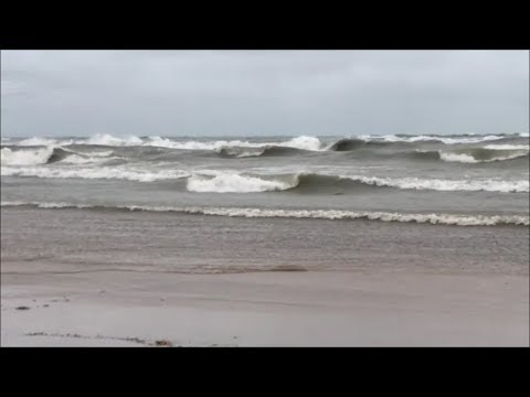 Waves On Lake Michigan Indiana Dunes