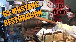 1965 Mustang Master Cylinder Rebuild (Single Bowl)