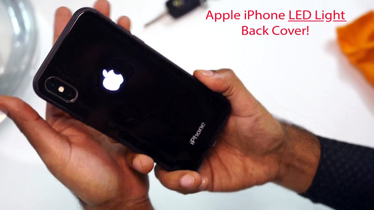 new concept 3e3ab 136de Review - Apple Logo LED Light Illuminated Back Case for iPhone