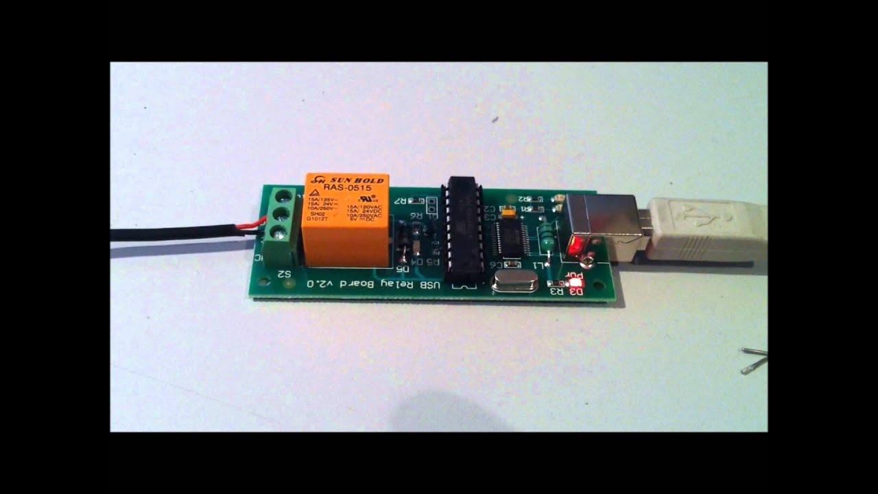 Diy Usb Remote Shutter Release For Nikon D5000 Dslr Youtube