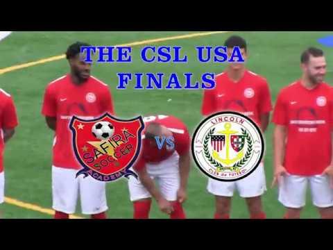 SAFIRA F.C vs LINCOLN C.F - CSL USA FINALS - Julho, 22 - 2017