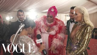 Rita Ora & Lizzo on Their Glamorous Met Gala Looks | Met Gala 2019 With Liza Koshy | Vogue