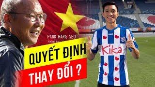 Văn Hậu báo tin vui, thầy Park phá lệ với tuyển Việt Nam đấu Malaysia?