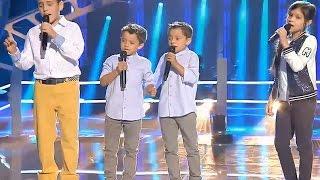 """Carlos vs. Antonio y Paco vs. Kely: """"Toda Una Vida"""" – Las Batallas - La Voz Kids 2017"""