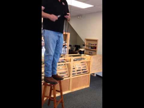 Production Hiking Buddy Rick Lowe Custom Kydex Sheath test