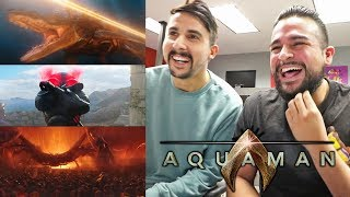 DC Is Ready To Take The Throne! REACTING TO AQUAMAN - Final Trailer | Aquaman Final Trailer Reaction