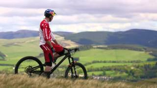Curtis Keene Rides Single Track in Scotland