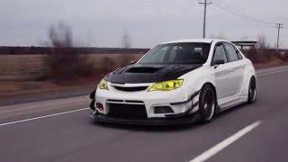 Varis wide body Subaru STI - Lachute Performance project car