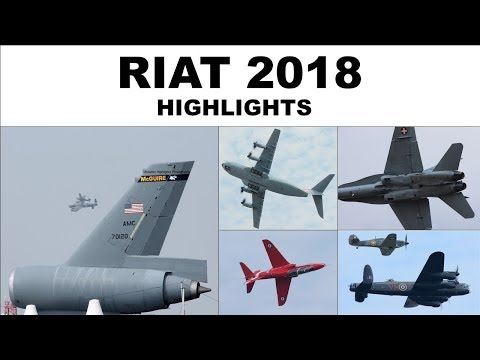 Royal International Air Tattoo highlights   2018