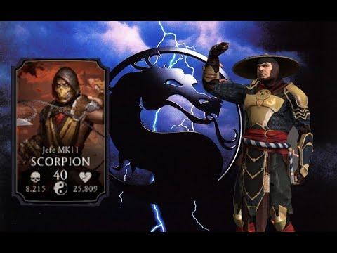 ¡Jefe Final Del Desafío De Raiden MK11! | Mortal Kombat Mobile