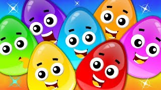 Learn Colors With Crazy Eggs | Songs For Children by Kids Tv