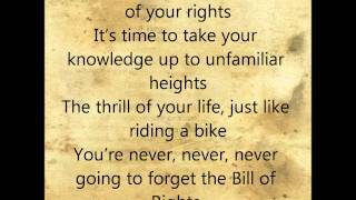 Bill of Rights Song