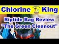 Product Review: The Riptide Green Pool Bag - Chlorine King Pool Service