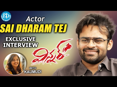 Hero Sai Dharam Tej Exclusive Interview || #Winner || Talking Movies With iDream #286