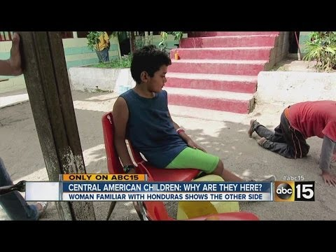 Why are Central American children making journey to U.S.?