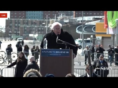 Bernie Sanders  full speech AT Rally Coney Island, Wyoming Victory Speech New York 4th April
