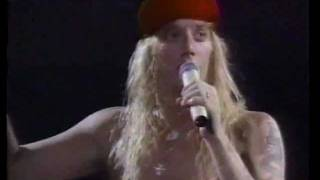 Warrant - Live In Lafayette, LA 91 - Cherry Pie tour  full