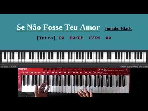 Video Aula Se não fosse o Teu amor (Juninho Black)