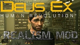 Now available Whats the Deus Ex HR Realism Mod Read Here httpwpmep3HnUA9x