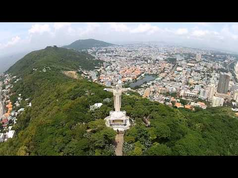 Statue of Christ and Vung Tau City 26 09 2014 Limited Addition HD