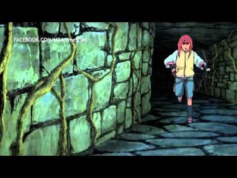 Naruto And Sauske VS Reibi Zero Tails English Dub