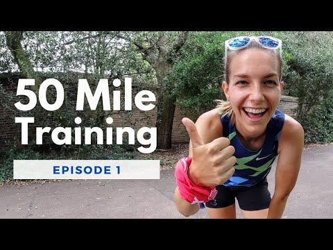 50 mile training vlog hill session and training schedule