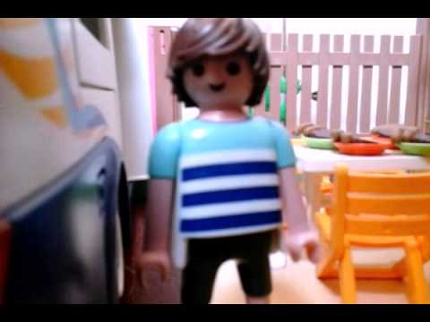 Amour au camping playmobil