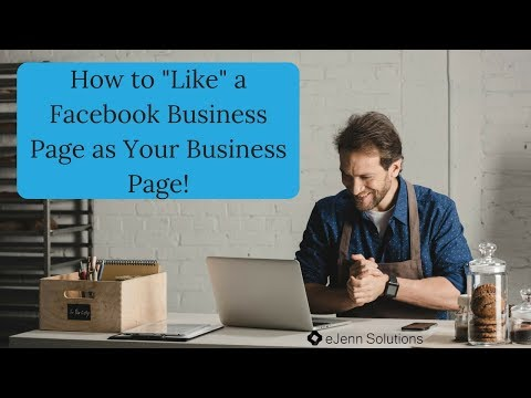 How to Like Other Pages as Your Business Page 2018