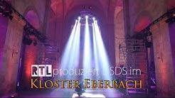 DSDS im Kloster Eberbach - Aufbau in der Basilika - Zeitraffer