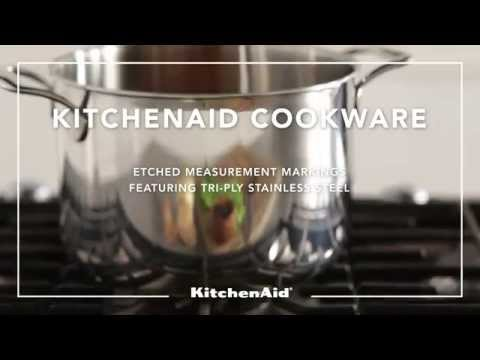 KitchenAid® Cookware Etched Measurement Markings