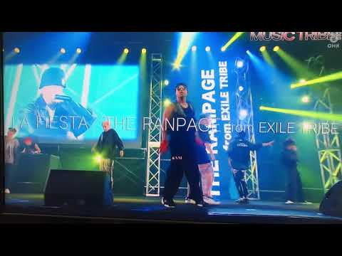 MUSIC TRIBE 2018 THE RAMPAGE from EXILE TRIBE 「LA FIESTA」