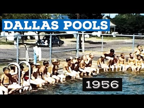 Dallas Had Neighborhood Swimming Pools