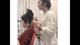 прическа на любое событие салон красоты La Familia salon семейная парикмахерская Бровары