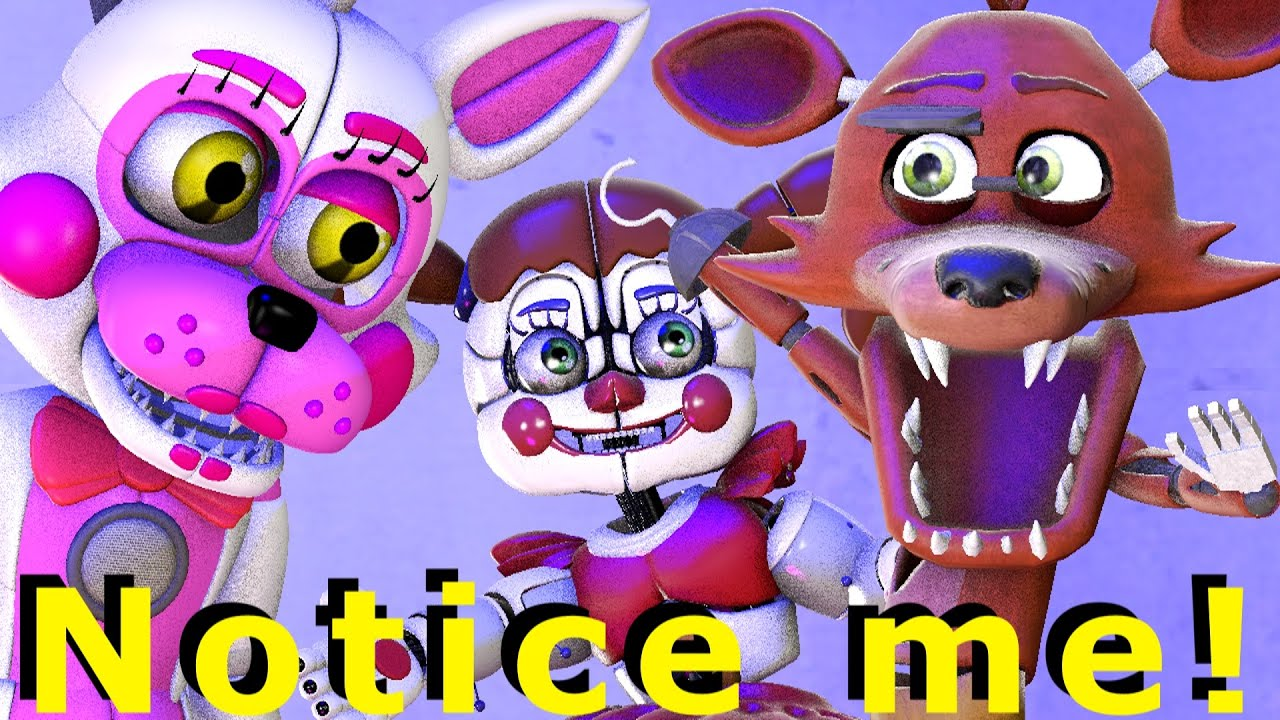 Baby Foxy Hero Love [FNAF SFM] Animation Five Nights at Freddy's