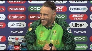 Cricket World Cup | Faf du Plessis | Proteas Press Conference