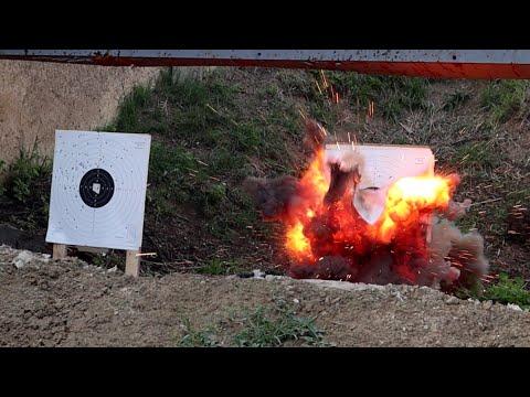 Making Safe Exploding Targets (like Tannerite But Much Safer)